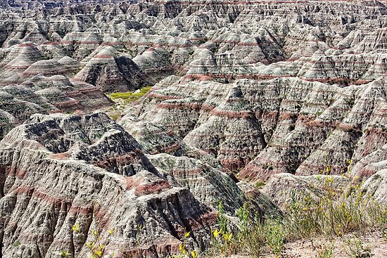 Badlands National Park, South Dakota, US by Teresa Zieba