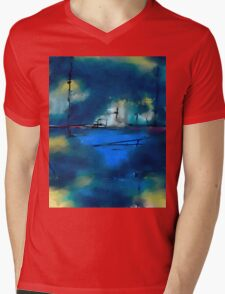 City of Blues Mens V-Neck T-Shirt