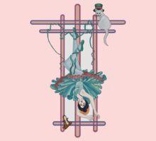 Tarot Hanged Woman Kids Tee