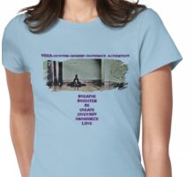 Yoga is Womens Fitted T-Shirt