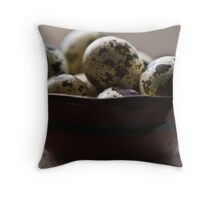 ~all my eggs in one bowl~ Throw Pillow