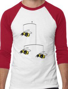 bumble-bee mobile Men's Baseball ¾ T-Shirt
