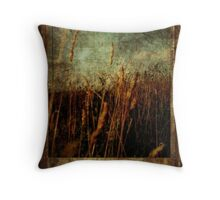 On To Fields of Bali. Throw Pillow