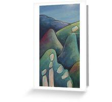 Glenhope Rocks Greeting Card