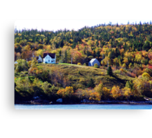 A Country Home Canvas Print