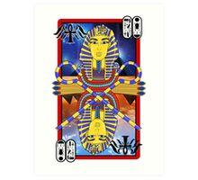 """Tutankhamun Tarot"" Art Print"