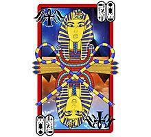 """Tutankhamun Tarot"" Photographic Print"