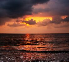 Sunrise in Caribbean by Karel Kuran