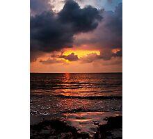 Sunrise in Caribbean Photographic Print