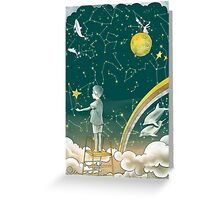 Little dreamer  Greeting Card