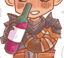 Tiny Krem Sticker