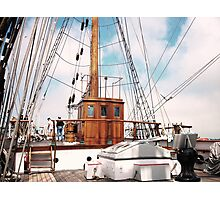 Tall Ship Elisa Pilot House Photographic Print