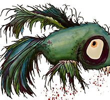"""ds"" the zombie betta fish by justL"
