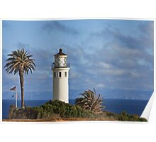 Point Vincente Lighthouse, CA Poster
