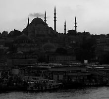 Evening in Istanbul by Jens Helmstedt