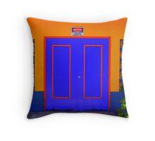 Don't miss the Door! Throw Pillow