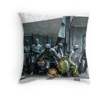 The Warsaw Uprising Monument Throw Pillow