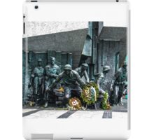 The Warsaw Uprising Monument iPad Case/Skin