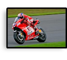 British Moto Grand Prix 10 (2009) Canvas Print