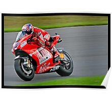 British Moto Grand Prix 10 (2009) Poster