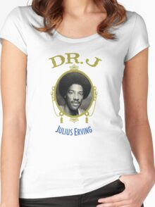 DR J Women's Fitted Scoop T-Shirt