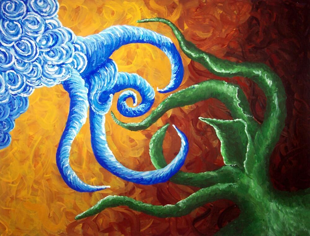 God Created the Heaven and the Earth by Karirose