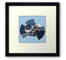 Small World Isn't It Framed Print