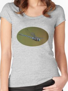 Dragonfly in Flight Women's Fitted Scoop T-Shirt