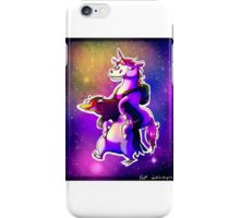 Unicorn Riding a Penguin iPhone Case/Skin
