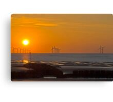 New Brighton Beach Canvas Print