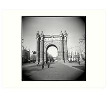 Arco del Triunfo Art Print