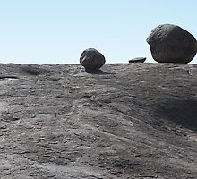 Balancing Rock Formations, Kopjes in Serengeti National Park, Tanzania by Carole-Anne
