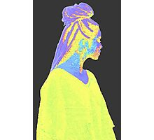 Jhene Colorful Fuzz Photographic Print