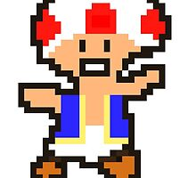 Toad Pixel Art by bornrico