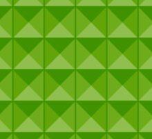 Pattern: Green Tiles Sticker