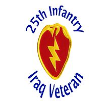 25th Infantry - Iraq Veteran Photographic Print