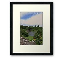 Mayo bridge Framed Print