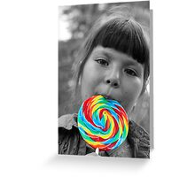 Savor the Rainbow Greeting Card