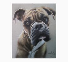 Boxer close up in colored pencil Unisex T-Shirt