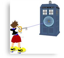 Sealing the TARDIS Canvas Print