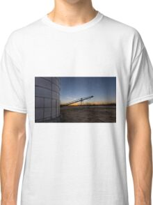 Manure stacking a sunset Classic T-Shirt