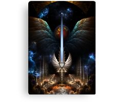 The Angel Wing Sword Of Arkledious Imperial Wings Canvas Print