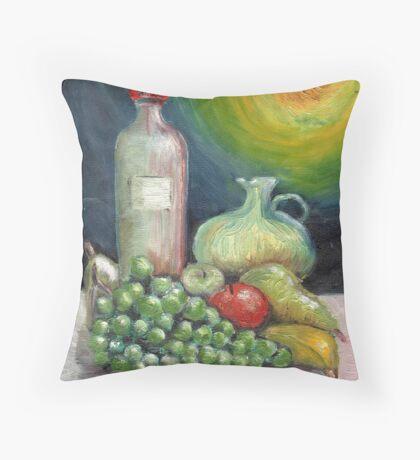 Still life 1956 oils Throw Pillow