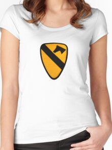1st Cavalry Women's Fitted Scoop T-Shirt