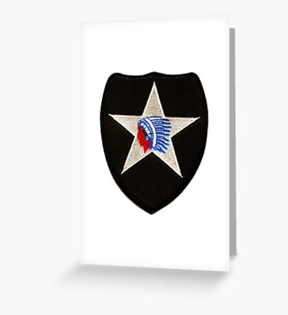2nd Infantry Greeting Card