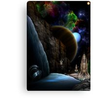 Exploration Of Space Canvas Print