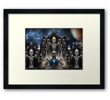 Fractilus City Framed Print