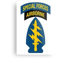 Special Forces Metal Print