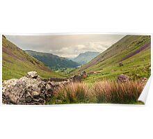 Lakeland View, Cumbria. UK Poster