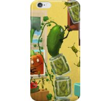 The Escape of the pickles! iPhone Case/Skin